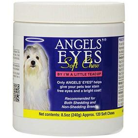 Tira Mancha Cães E Gatos Angels Eyes Sabor Frango 240g