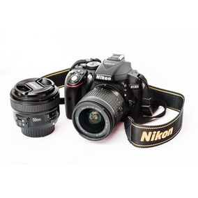 Camera Nikon D5300 + Lentes 18-55 E 50 Mm 1.8