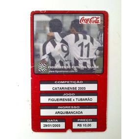 Ingresso Campeonato Catarinense 2003 - Figueirense -tubarão