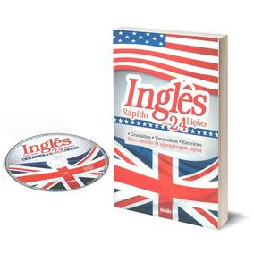 Curso De Inglês Rápido Em 24 Lições Livro + Cd
