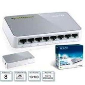 Switch De 8 Puertos A 10/100 Mbps Mod:tl-sf1008d