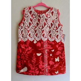 Vestido Ocaso De Pajaros Para Niña 4-5 Años