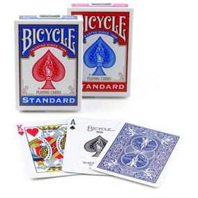 2 Baralhos Bicycle Standard - Azul E Vermelho Baralho