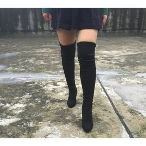 16fb4548d Bota Zatz Over The Knee Flat - Sapatos no Mercado Livre Brasil