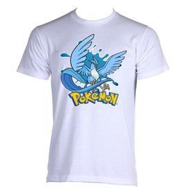 Camiseta Articuno Pokemon Go Game Anime Adulto d6257d56f10