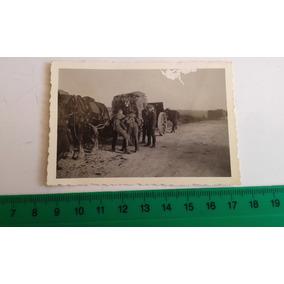 Foto Original Soldados Avançando 2ª Guerra Mundial