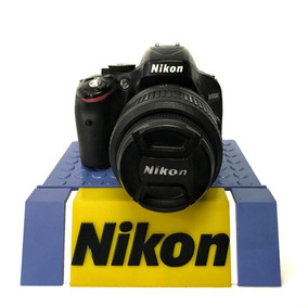 Câmera Nikon Profissional D5100 Com 18-55mm Seminova