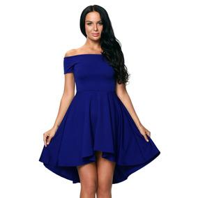 Vestidos cortos para bodas azul