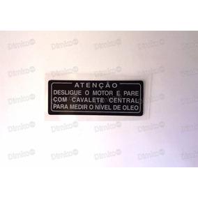 Etiqueta Nivel De Oleo Cbx 750 F Todas Original Honda