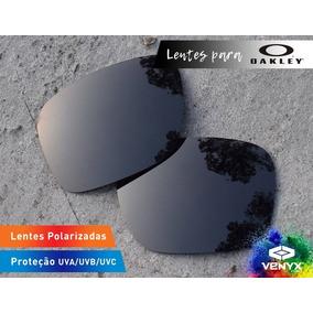 Oakley Frogskins Preto Lente Polarizada De Sol - Óculos no Mercado ... c96e63c1bf