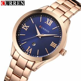 db3ba6aa9ce Relogios Curren Feminino - Relógios De Pulso no Mercado Livre Brasil
