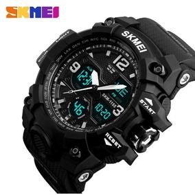 Relógio Militar Masculino Skmei 1155b Original Prova D