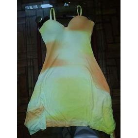 Vestido Amarelo/branco