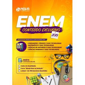 Apostila Enem 2019 + Caderno De Questões Do Enem