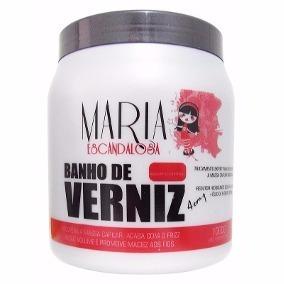 5 Maria Escandalosa Banho De Verniz Escandaloso 1kg