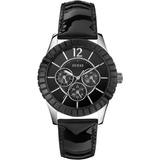 Para Guess En Leopardo Relojes Dama Negro Reloj Mujer Mercado BordxeCW
