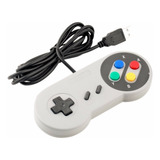 Control Snes Usb Para Tv, Laptop, Computadora Smart Tv, Play