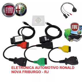Scanner Fiat V4.2 + 2 Interface + 4 Cabos - Versao 2019