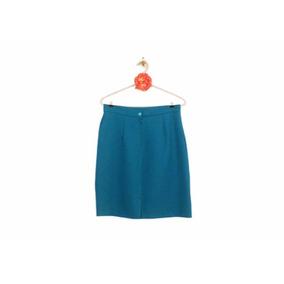 58567fe2d49 Falda Tubo - Faldas Tubo de Mujer Azul petróleo en Mercado Libre México