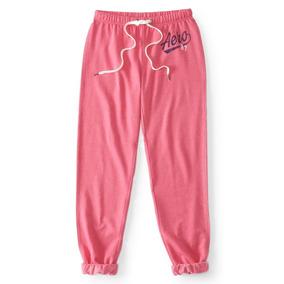 Pantalon Aeropostale Deportivo De Velour Rosa Talla: Xxl.