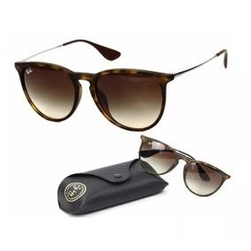 456a14de644d9 Oculos Feminino - Óculos De Sol Ray-Ban Erika no Mercado Livre Brasil