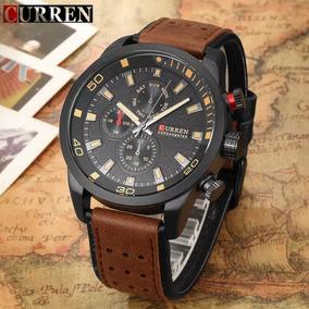Relógio Masculino Curren 8250 Marron Lindo- Frete Grátis