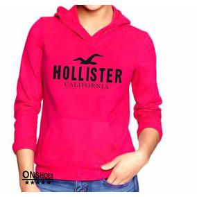 Moletom Hollister Masculino E Feminino Blusa De Frio Cangur b7655a26db46b