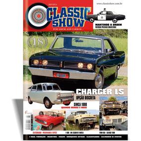Revista Classic Show 96, Charger, Simca, F-600, Colecionador