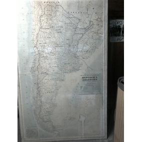 Mapa Mural Argentina 1,73 X 1,09 M (microcentro)