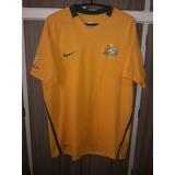 5f7ba81314 Camisa Da Seleção Da Australia 2010 (nike) Tamanho M