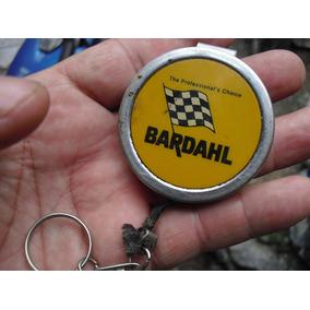 Antiguo Llavero Bardahl De Auto Viejo Con Cuarda Retraible