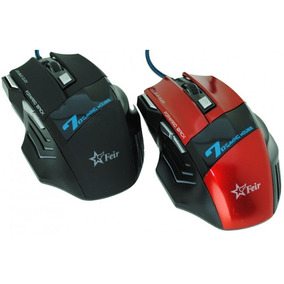 Mouse Gamer Usb 3200 Dpi Led, Múltiplas Funções.