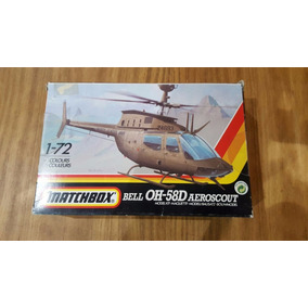 Bell Oh-58d Aeroscout 1:72 Matchbox