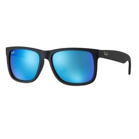 1bb6e1caf458d Ray Ban Justin Lente Azul - Óculos no Mercado Livre Brasil