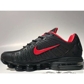 factory authentic 44510 a344d Zapatillas Nike Air Max Hua 160 Black Logo Rojo 2019