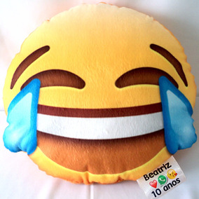 30 Almofadas Personalizadas Emoji Emotion 30 Cm + Brinde