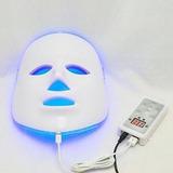 110v Us Plug - Nuevo 3 Colores Luz Led Facial Máscara P-1184