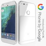 Google Pixel Xl Tela 5.5 (128 Gb) Silver (((otimo Estado)))