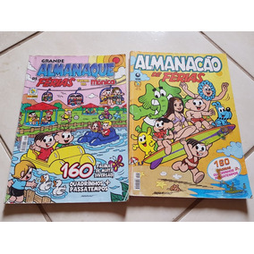 Almanaques De Férias Turma Da Mônica