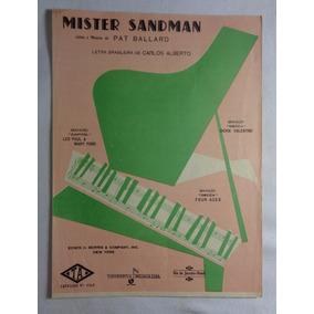 Partitura Mister Sandman Piano