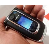 Celular Nokia 6131 Flipe Na Mola Cam Radio Visor Sd Raridade