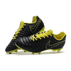finest selection 94633 cacef Chuteira Nike Tiempo Legend 7 Preto Amarel Profissional Acc