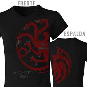 Playera Game Of Thrones, Juego De Tronos, Targaryen, Stark