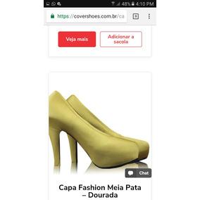 Capa Para Meia Pata Cover Shoes Brasil