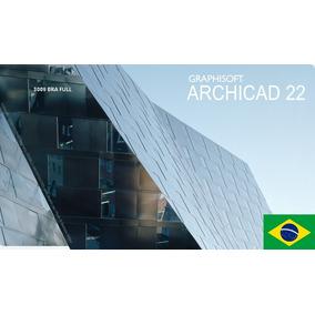 Archicad 22 Portugues Br Pc/mac - Vintalício