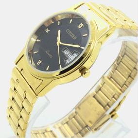 (1e)relógio Citizen Banhado A Ouro-frete Grátis Promoção
