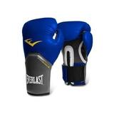Guantes De Box Everlast Pro Style Azul 12 Y 14 Oz
