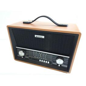 Caixa De Som Bluetooth Mp3 Rádio Am Fm Sw C/ 4 Faixas Bivolt
