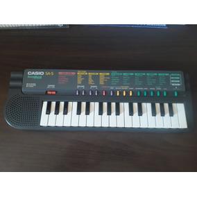 9bcece27db5 Mini Teclado Casio Infantil Sa 76h2 - Instrumentos Musicais no ...