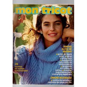 Revista Mon Tricot 1988 - Revistas de Coleção no Mercado Livre Brasil ab07dd09007